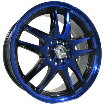 Alufelgi Admiro 17×7.5 5×108 ET42 Blue Faced Machined