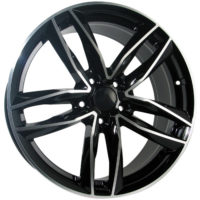 Alufelgi CAR1 22×9.5 5×112 ET35 Black Faced Machined