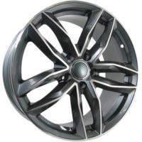 Alufelgi CAR1 22×9.5 5×112 ET25 Grey Faced Machined