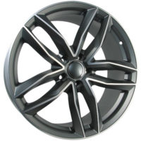Alufelgi CAR1 20×9 5×112 ET42 Grey Faced Machined