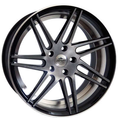 Alufelgi Forzza Charge 19×8.5 5×120 ET33 Black Faced Machined/inlm