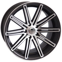 Alufelgi Vertin 19×8.5 5×120 ET33 Grey Faced Machined