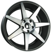 Alufelgi Lobi 17×7.5 5×112 ET30 Grey Faced Machined