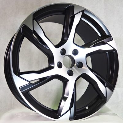 Alufelgi Manco 21×9 5×108 ET45 Black Matt Faced Machined