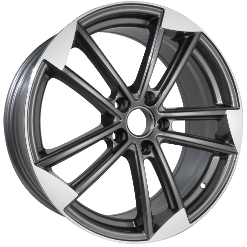 Alufelgi Monzini 19×8.5 5×112 ET40 Grey Faced Machined