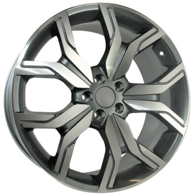 Alufelgi Port 22×10 5×120 ET45 Grey Faced Machined