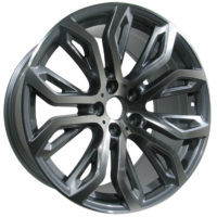 Alufelgi Puaro 20×11 5×120 ET35 Grey Faced Machined