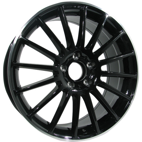 Alufelgi Spark 19×9.5 5×112 ET44 Black Lip Machined