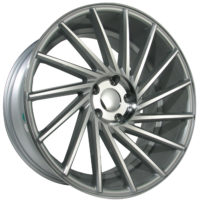 Alufelgi Taora 19×9.5 5×112 ET35 Silver Faced Machined