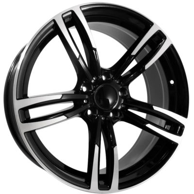 Alufelgi Twister 20×8.5 5×120 ET35 Black Faced Machined