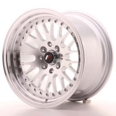 Alufelgi Japan Racing JR10 15×9 ET10 4×100/114 Machined Sil