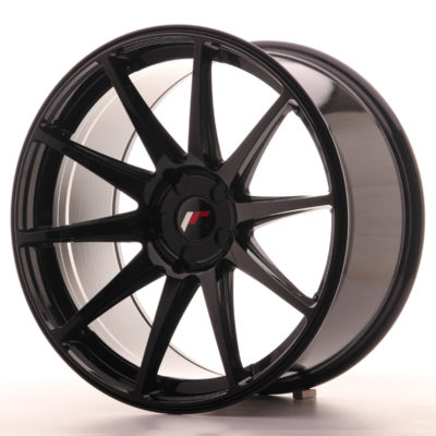Japan Racing JR11 20x10 ET20-40 5H Blank Glossy Bl