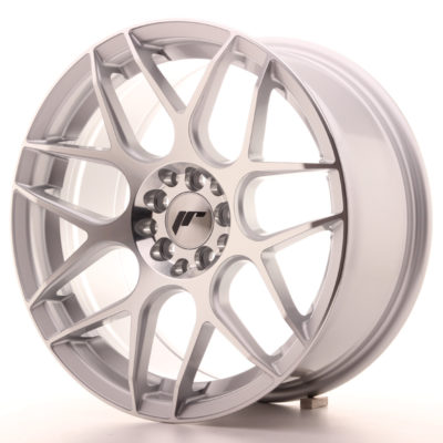 Japan Racing JR18 17x8 ET35 4x100/114 Silver Mach