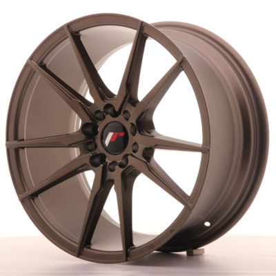 Alufelgi Japan Racing JR21 18×8,5 ET40 5×112/114 Matt Bronz