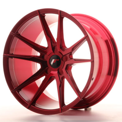 Alufelgi Japan Racing JR21 19×11 ET15-30 5H Platinium Red