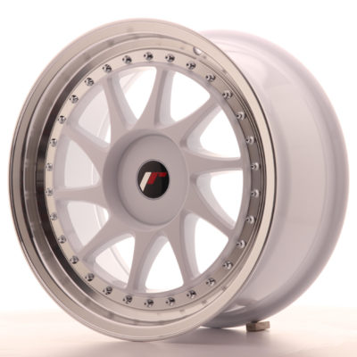 Japan Racing JR26 17x8 ET20-35 Blank White