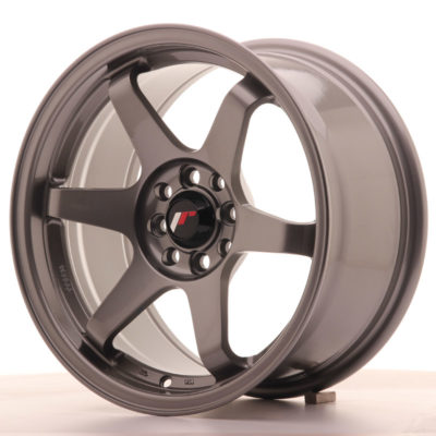 Japan Racing JR3 16x8 ET25 4x100/108 Gun Metal