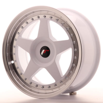 Alufelgi Japan Racing JR6 17×8 ET20-35 Blank White