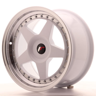 Japan Racing JR6 17x9 ET20-35 Blank White