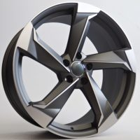 Alufelgi Remos 21×9.5 5×112 ET35 Grey Faced Machined