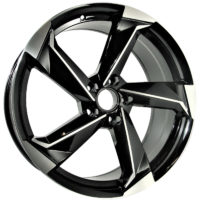 Alufelgi Remos 21×9 5×112 ET30 Black Faced Machined