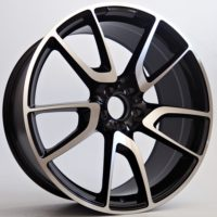 Alufelgi Sprint 19×9 5×112 ET35 Black Faced Machined