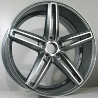 Alufelgi Avenza 20×9 5×112 ET30 Grey Faced Machined