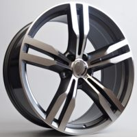 Alufelgi Capri 19×8.5 5×112 ET25 Grey Faced Machined