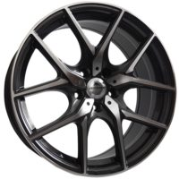 Alufelgi Vision 17×7.5 5×112 ET42 Grey Faced Machined