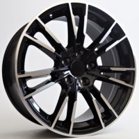 Alufelgi Grand 20×9.5 5×112 ET38 Black Faced Machined