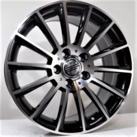 Alufelgi Larino 18×8.5 5×112 ET45 Black Faced Machined