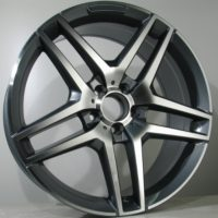 Alufelgi Lite 18×8.5 5×112 ET42 Grey Faced Machined