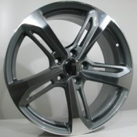 Alufelgi Odi 20×9 5×112 ET35 Grey Faced Machined