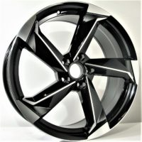 Alufelgi Remos 17×7.5 5×112 ET45 Black Faced Machined