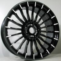 Alufelgi Shift 20×9.5 5×120 ET38 Black Faced Machined