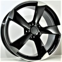 Alufelgi SR1 18×8 5×112 ET35 Black Faced Machined