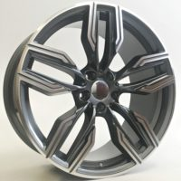 Alufelgi Vector 20×10 5×112 ET40 Grey Faced Machined