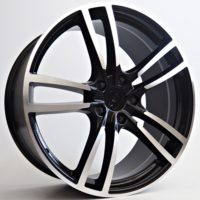Alufelgi Stream 20×9 5×130 ET48 Black Faced Machined