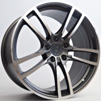 Alufelgi Stream 20×9 5×130 ET48 Grey Faced Machined