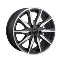 Alufelgi Disla Raptor 17×7.5 5×108 ET40 Black Matt Faced Machined