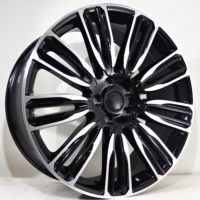 Alufelgi Drag 20×9.5 5×108 ET45 Black Faced Machined