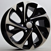 Alufelgi Atlas 17×7 5×114,3 ET35 Black Faced Machined