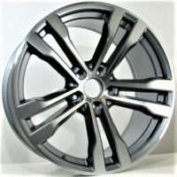 Alufelgi Faber 20×10 5×120 ET45 Grey Faced Machined