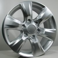 Alufelgi Goro 17×7.5 6×139 ET30 Silver Faced Machined