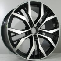 Alufelgi Joris 17×7.5 5×112 ET45 Black Faced Machined