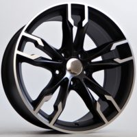 Alufelgi Prit 19×8.5 5×120 ET35 Black Matt Faced Machined