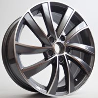 Alufelgi Riva 17×7 5×112 ET45 Grey Faced Machined