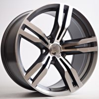 Alufelgi Capri 19×9.5 5×112 ET41 Grey Faced Machined