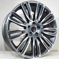 Alufelgi Drag 20×9.5 5×120 ET48 Grey Faced Machined