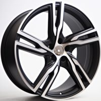 Alufelgi Globe 20×8.5 5×108 ET45 Black Matt Faced Machined